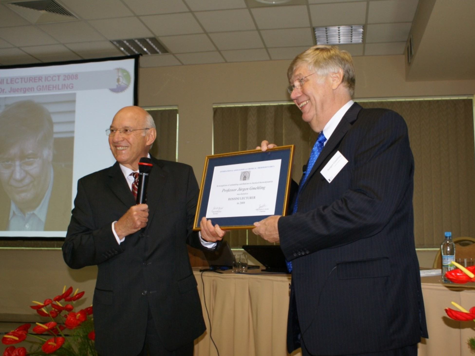 Rossini Lectureship Award